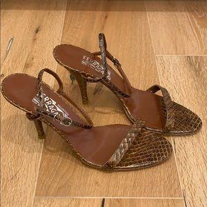 Salvatore Ferragamo heels in size 9.5